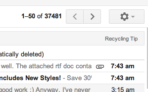 Inbox insanity