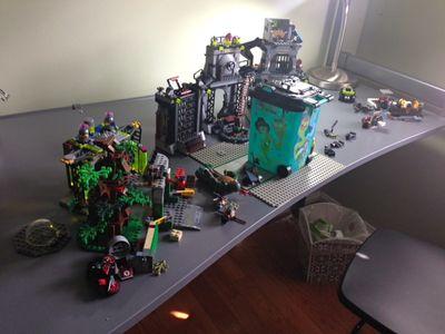 Lego desk