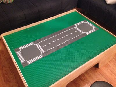 There Are Literally Four Hojillion Helpful And Beautifully Photographed  Tutorials On How To Turn A Train Table Into A Lego Table On The Internet.  LITERALLY.