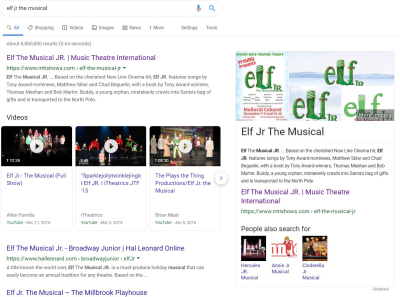 Elf jr the musical jr the musical