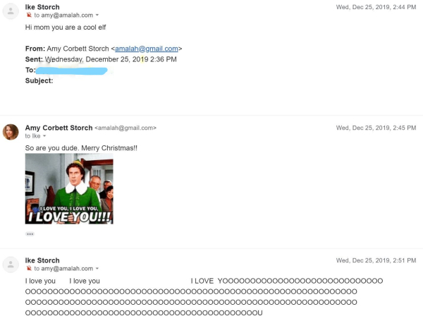 Ikes emails