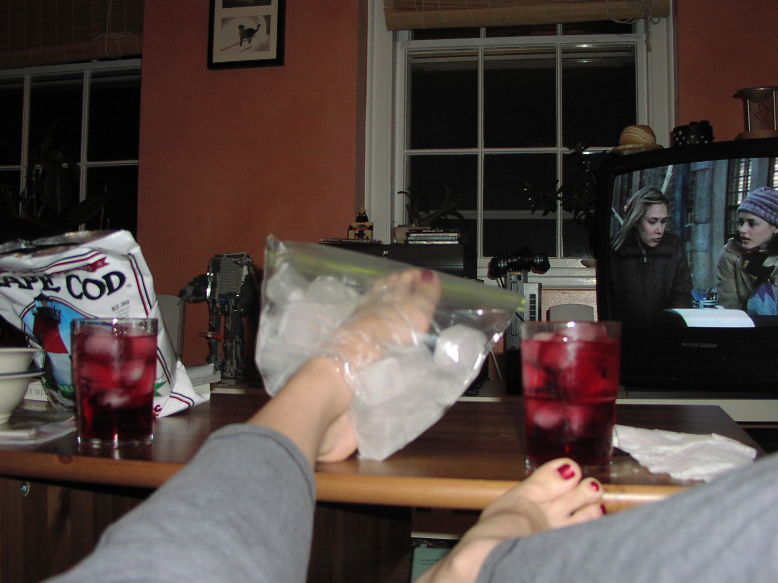 Ace Bandage On My Foot